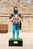 19 kunnen 2017 Baku, Azerbeidzjan Amulet IV Islamitische solidariteitsspelen - Karabakh-renpaarden Inje en Dzhasur Stock Fotografie