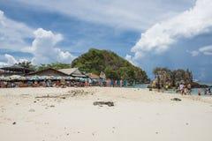 22 kunnen 2016: het eiland op maya strand, phuket, Thailand, kan 22, 2016 Royalty-vrije Stock Afbeelding