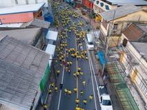 26 kunnen 2018, phang-Nga:: liefdadigheid in phang-Ngastad die in werking wordt gesteld Stock Foto's