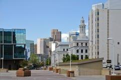 23 kunnen 2013 Stad en van de Provincie de Bouw, dichtbij het Capitool van de Staat, Denver, Colorado Stock Foto