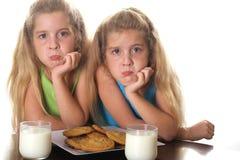Kunnen wij een koekje gelieve te hebben? stock foto