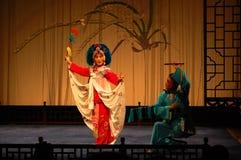 Kunqu歌剧,南京,中国 库存图片