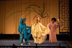 Kunqu歌剧,南京,中国 免版税库存照片