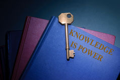 Kunskap är ström Royaltyfri Foto