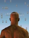 kunskapsfönster Royaltyfri Bild