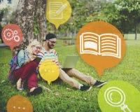 Kunskapsutbildning som lär expertisutbildningsbegrepp arkivfoton