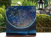 Kunst, Ölgemälde Bild ` wenig Prinz ` Bildraum Hintergrund stockbild