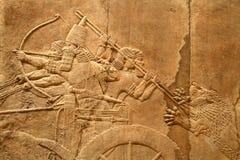 Kunst 4 van Assyrian van Acient Stock Foto