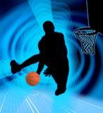 Kunst 4 van het basketbal Royalty-vrije Stock Fotografie