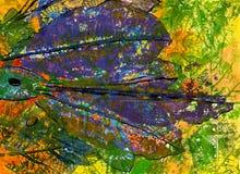 Kunst abstracte achtergrond Stock Fotografie