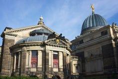 Kunst academie-I-Dresden Stock Foto's