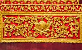 Kunst auf der Kirche ummauert Tempel Lizenzfreie Stockbilder