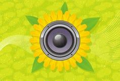 Kunst; Auszug; Audio; gerber; Lautsprecher Lizenzfreies Stockbild
