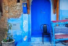 Kunst in Blauw Stock Afbeeldingen