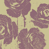 Kunst Blumendeco Hintergrund Lizenzfreie Stockfotos