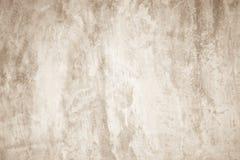 Kunst concrete textuur voor achtergrond in sepia stock afbeeldingen