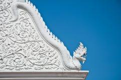 Kunst der Kirche am Supannaram Tempel Stockfotografie