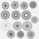 Kunst der Kreissammlung lizenzfreie abbildung