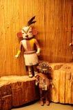 Kunst des Acoma-Pueblo-amerikanischen Ureinwohners vom New Mexiko Stockfotos