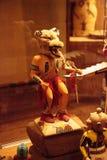 Kunst des Acoma-Pueblo-amerikanischen Ureinwohners vom New Mexiko Stockbild