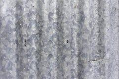 Kunst des galvanisierten Eisens Stockfotos