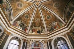Kunst des Heiligen Mary Major Basilica - Rom Stockfotografie