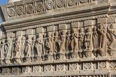 Kunst des jagdish Tempels Stockfotos