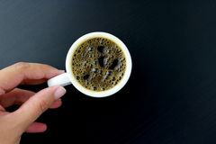 Kunst des Kaffees Lizenzfreie Stockfotos