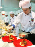 Kunst des Kochens Lizenzfreie Stockfotos