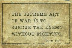 Kunst des Krieges Sun Tzu vektor abbildung