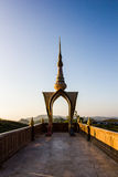 Kunst des Tempels in phetchaboon Provinz Nord-Thailand Stockfotografie