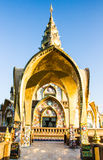 Kunst des Tempels in phetchaboon Provinz Nord-Thailand Lizenzfreie Stockfotografie