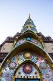 Kunst des Tempels in phetchaboon Provinz Nord-Thailand Lizenzfreies Stockbild