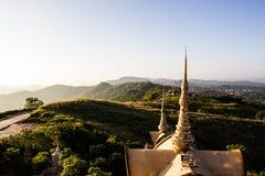 Kunst des Tempels in phetchaboon Provinz Nord-Thailand Lizenzfreies Stockfoto
