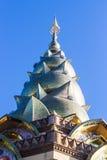 Kunst des Tempels in phetchaboon Provinz Nord-Thailand Lizenzfreie Stockbilder