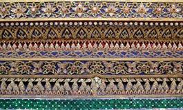 Kunst des thailändischen Tempels Lizenzfreies Stockfoto