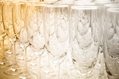 Kunst des Weinglases Stockbild