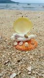 Kunst durch den Sand Stockfotos