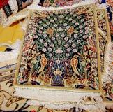 Kunst en Ambacht van Perzische Tapijten Royalty-vrije Stock Fotografie