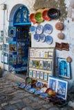 Kunst en Ambachtwinkel stock afbeeldingen