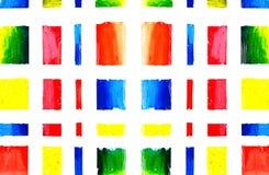 Kunst en verf en samenvatting en kleur Royalty-vrije Stock Foto's