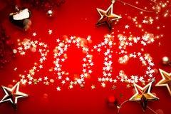 Kunst 2015-Feiertags-Hintergrund Lizenzfreie Stockbilder