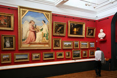 Kunst-Galerie Lizenzfreies Stockbild