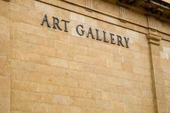Kunst-Galerie Stockfoto