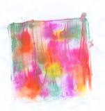 Kunst geschilderde illustratie Stock Fotografie