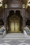 Kunst goldener Tür Lana Lizenzfreie Stockfotografie