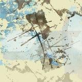 Kunst grunge Hintergrund Lizenzfreies Stockfoto