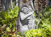 Kunst in Hawaii Stockfotos