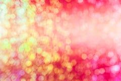 Kunst helles bokeh für HintergrundKonzept des Entwurfes Lizenzfreie Stockfotos