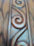 Kunst im Holz Stockbild